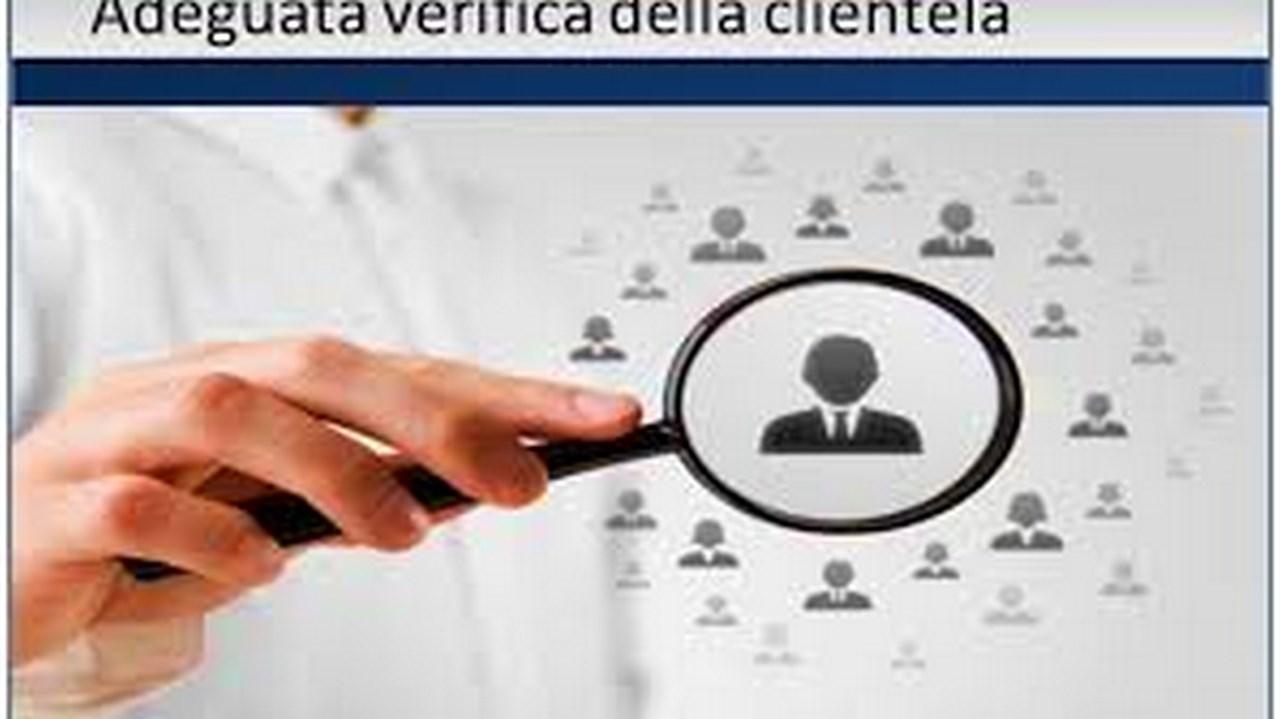 Adeguata verifica e informazioni