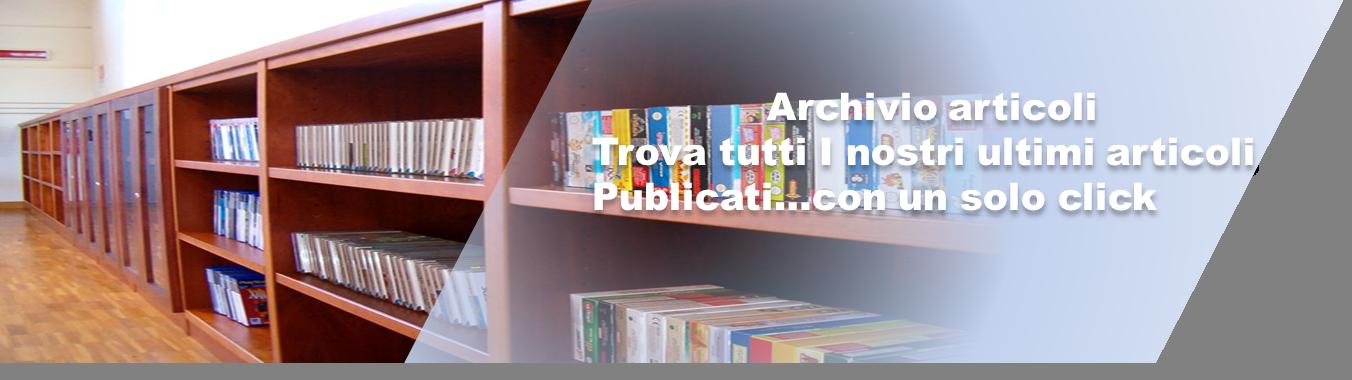 Archivio articoli