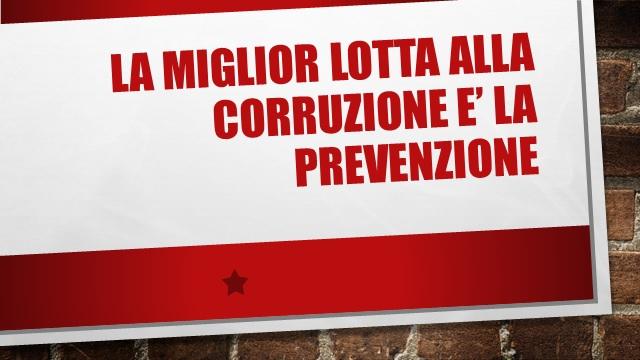 LEGALITÀ: Criteri di rotazione nel piano anti-corruzione