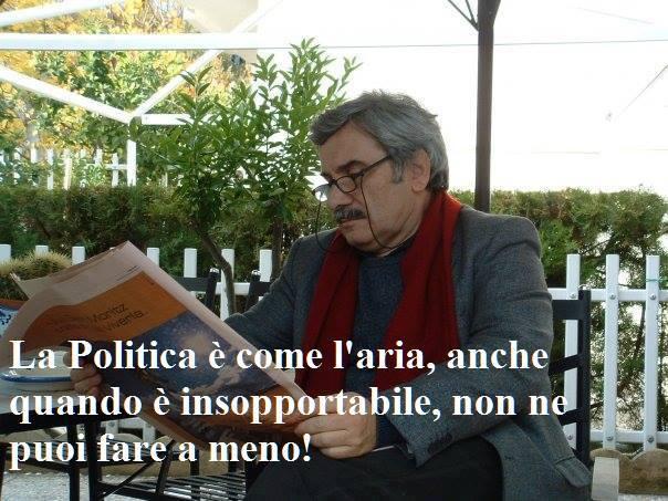 LA POLITICA IN VETRINA: all'esercito degli invisibili, scrivo!