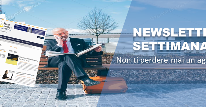 Newsletter dal 2 all'8 novembre 2020