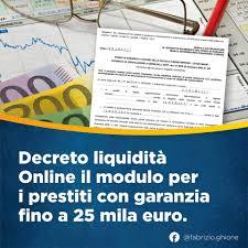 Prestito 25mila euro - liquidità
