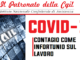 Covid-19: contagio sul lavoro