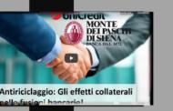 Video Antiriciclaggio: Gli effetti collaterali nelle fusioni bancarie!