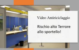 Video Antiriciclaggio Rischio alto terrore allo sportello!