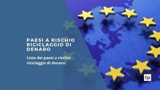 Paesi a rischio UE