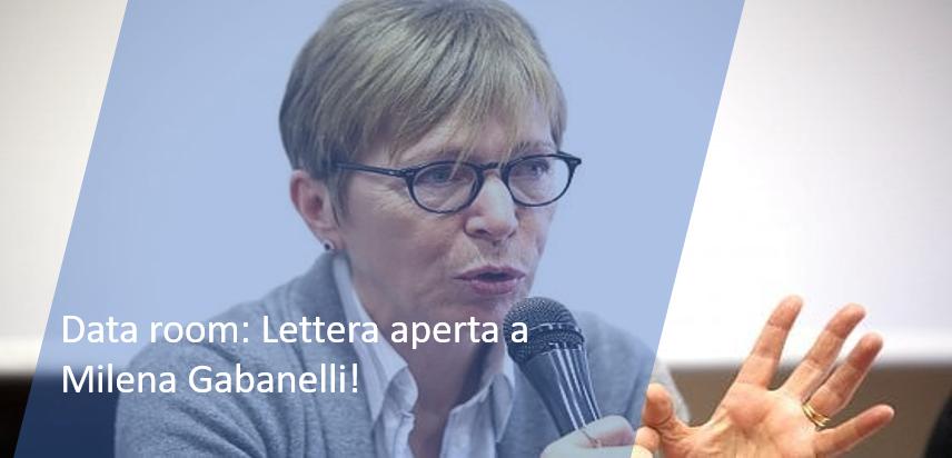 Data room: Lettera aperta a Milena Gabanelli!