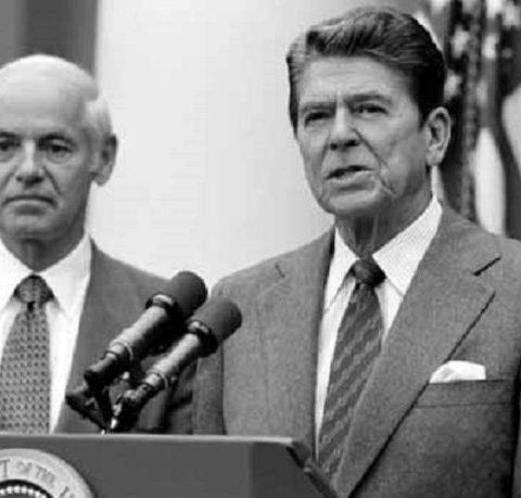 Ronald Reagan, Presidente Usa